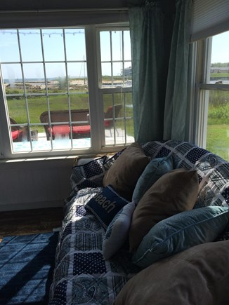 West Yarmouth Cape Cod vacation rental - Sunroom with view of Lewis Bay