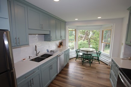 Pochet community, East Orleans Cape Cod vacation rental - Eat-in newly renovated kitchen.
