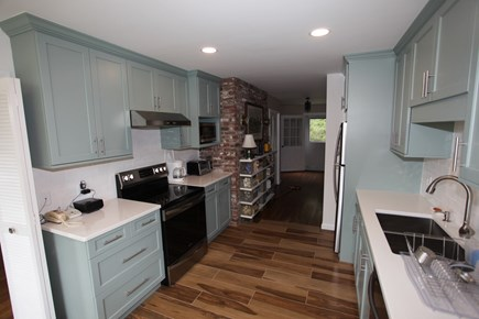 Pochet community, East Orleans Cape Cod vacation rental - Newly renovated eat-in kitchen.