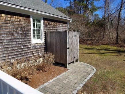 Dennis Cape Cod vacation rental - Outdoor shower
