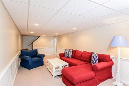 Dennis Cape Cod vacation rental - Basement finished room