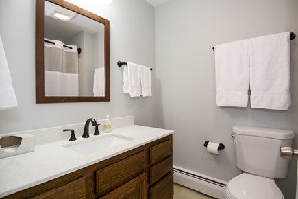Centerville Centerville vacation rental - Main bathroom. Tub and shower.