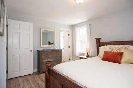 Centerville Centerville vacation rental - Master Bedroom. Queen bed. Private bath. Closet. Bureau.