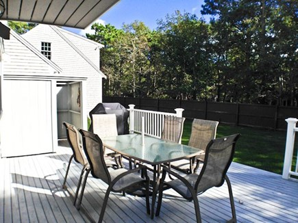 Chatham Cape Cod vacation rental - Deck