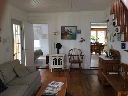 Pocasset Pocasset vacation rental - Living Room with Pull out sofa.