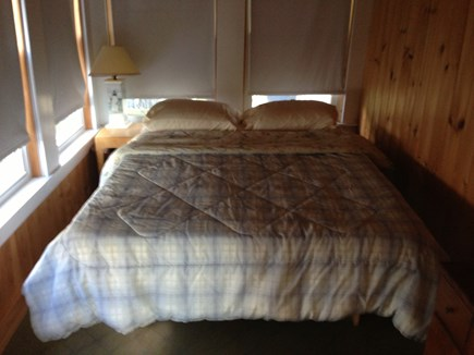Pocasset Pocasset vacation rental - Downstairs bedroom with Double bed.
