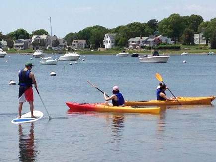 Pocasset Pocasset vacation rental - Calm water steps from house for water sports.