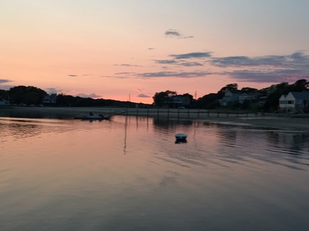 Pocasset Pocasset vacation rental - Hen Cove Beach at Sunset. Steps from house.