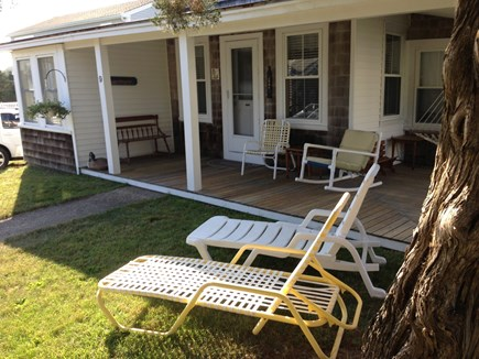 Pocasset Pocasset vacation rental - Front of house w/view of water.