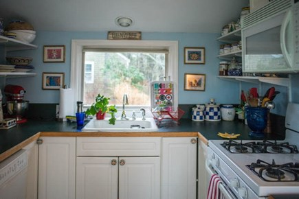 Hyannis Port Cape Cod vacation rental - Kitchen is fully equipped with great working space.