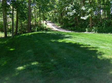 Orleans Cape Cod vacation rental - House is located a long way from the road.