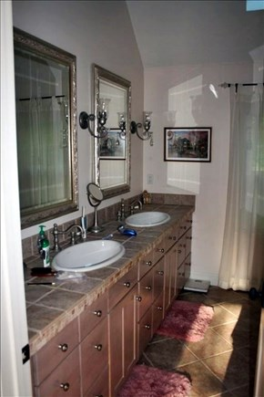 Orleans Cape Cod vacation rental - Beautiful Master bath with shower for two.