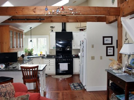 Orleans Cape Cod vacation rental - Kitchen adjoins family room