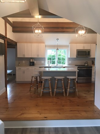 Chatham Cape Cod vacation rental - View into Kitchen from Sunroom