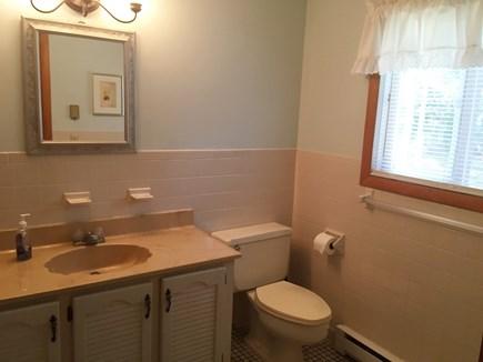 North Falmouth Cape Cod vacation rental - First floor bath-Shower  Second Floor Bath has full tub