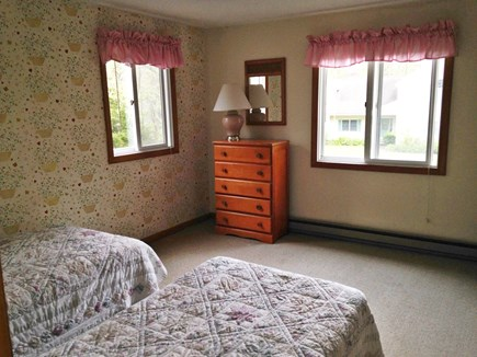 North Falmouth Cape Cod vacation rental - Bedroom 2-Twin Beds and Large Closet