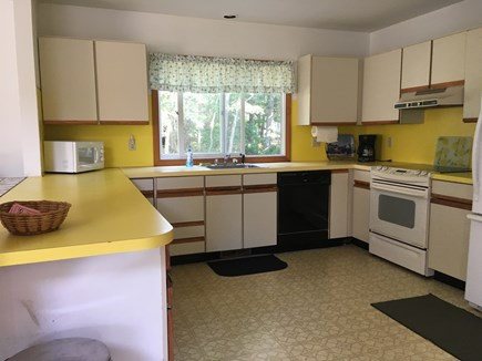 North Falmouth Cape Cod vacation rental - Kitchen-Fully Applianced with Breakfast Bar