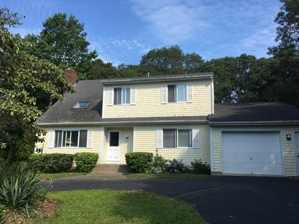 North Falmouth Cape Cod vacation rental - Front of House-Situated on Cul-De-Sac