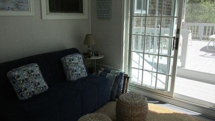 Eastham Cape Cod vacation rental - TV Porch