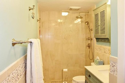 Provincetown Cape Cod vacation rental - Fully accessible shower
