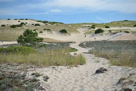 Provincetown Cape Cod vacation rental - Dune path to the Atlantic