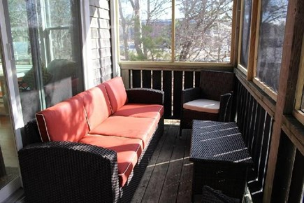 Provincetown Cape Cod vacation rental - Screened porch