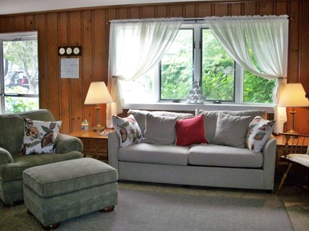 Dennis Cape Cod vacation rental - Newer sleep sofa in living room
