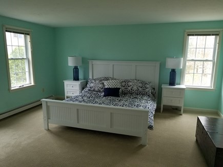 Dennis Village, North of 6A Cape Cod vacation rental - King Master Bed with Flat screen TV, Bath, Walk-in closet