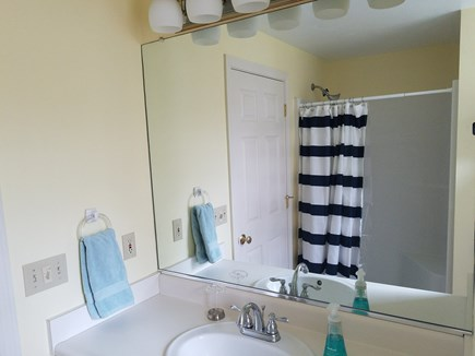 Dennis Village, North of 6A Cape Cod vacation rental - Master Bath