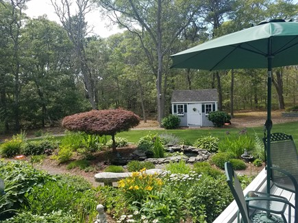 Dennis Village, North of 6A Cape Cod vacation rental - Backyard Oasis
