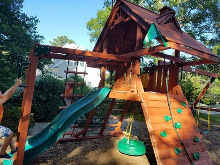 Dennis Village, North of 6A Cape Cod vacation rental - State of the art jungle gym!