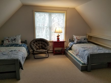 Dennis Village, North of 6A Cape Cod vacation rental - 2 Twins with 2 Trundle beds