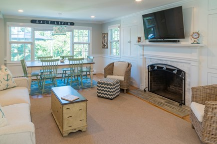 Chatham Cape Cod vacation rental - Living Room/Dining Room