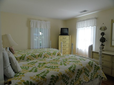 South Yarmouth Cape Cod vacation rental - Two twin beds in 3rd bedroom