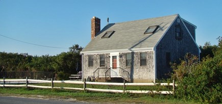 North Truro Cape Cod vacation rental - Exterior view of house