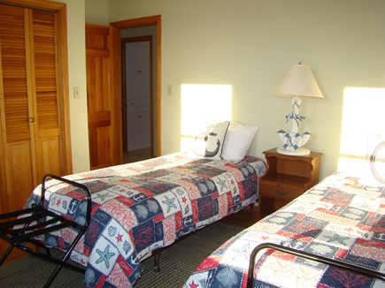 North Truro Cape Cod vacation rental - twin bedroom on the first floor, shares a full bath and shower