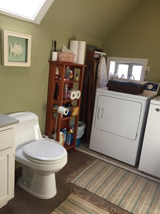 Provincetown Cape Cod vacation rental - Half bath, laundry