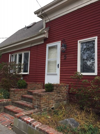 Provincetown Cape Cod vacation rental - Front of house, unit is floor 2, stairs in back