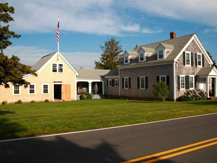 Harwich Port Cape Cod vacation rental - Main house, breezeway, and barn