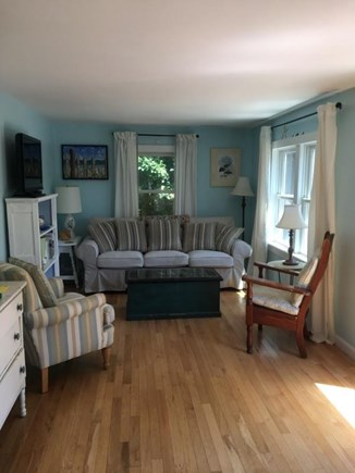 Dennis Cape Cod vacation rental - Nice living room with cable TV