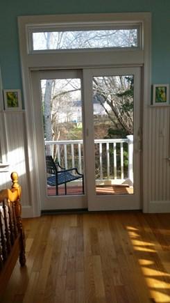 Dennis Cape Cod vacation rental - Pretty balcony of master