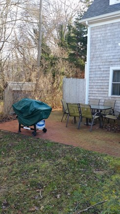 Dennis Cape Cod vacation rental - Quiet and private patio