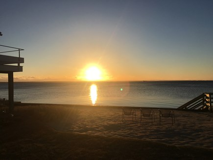 Provincetown Cape Cod vacation rental - Morning sunrise / View from backyard