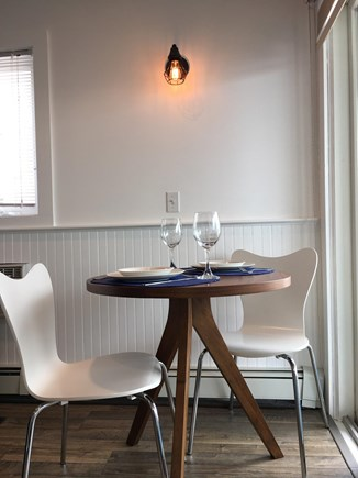 Provincetown Cape Cod vacation rental - Dining table