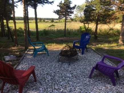 Eastham Cape Cod vacation rental - Smore's and a sunset! Pour yourself a cocktail and relax!