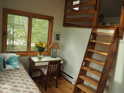 Wellfleet Cape Cod vacation rental - Write a letter or take a nap in the loft space.