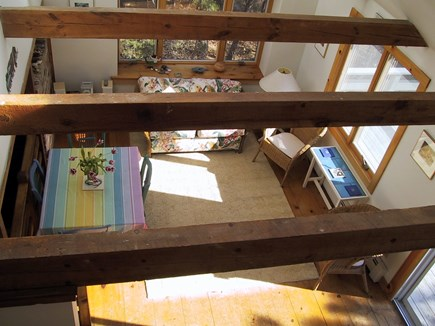 Wellfleet Cape Cod vacation rental - Light filled dining/sunroom with CD player