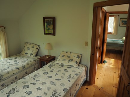 Wellfleet Cape Cod vacation rental - An intimate twin bedroom or move the beds together.