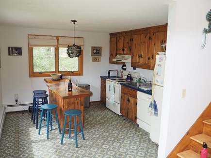 Wellfleet Cape Cod vacation rental - Get ready for breakfast in the kitchen at the breakfast bar