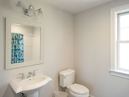 West Dennis Cape Cod vacation rental - Private Bath for Bedroom 3 with tub/shower.